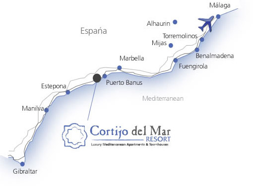 Location Cortijo del Mar Resort
