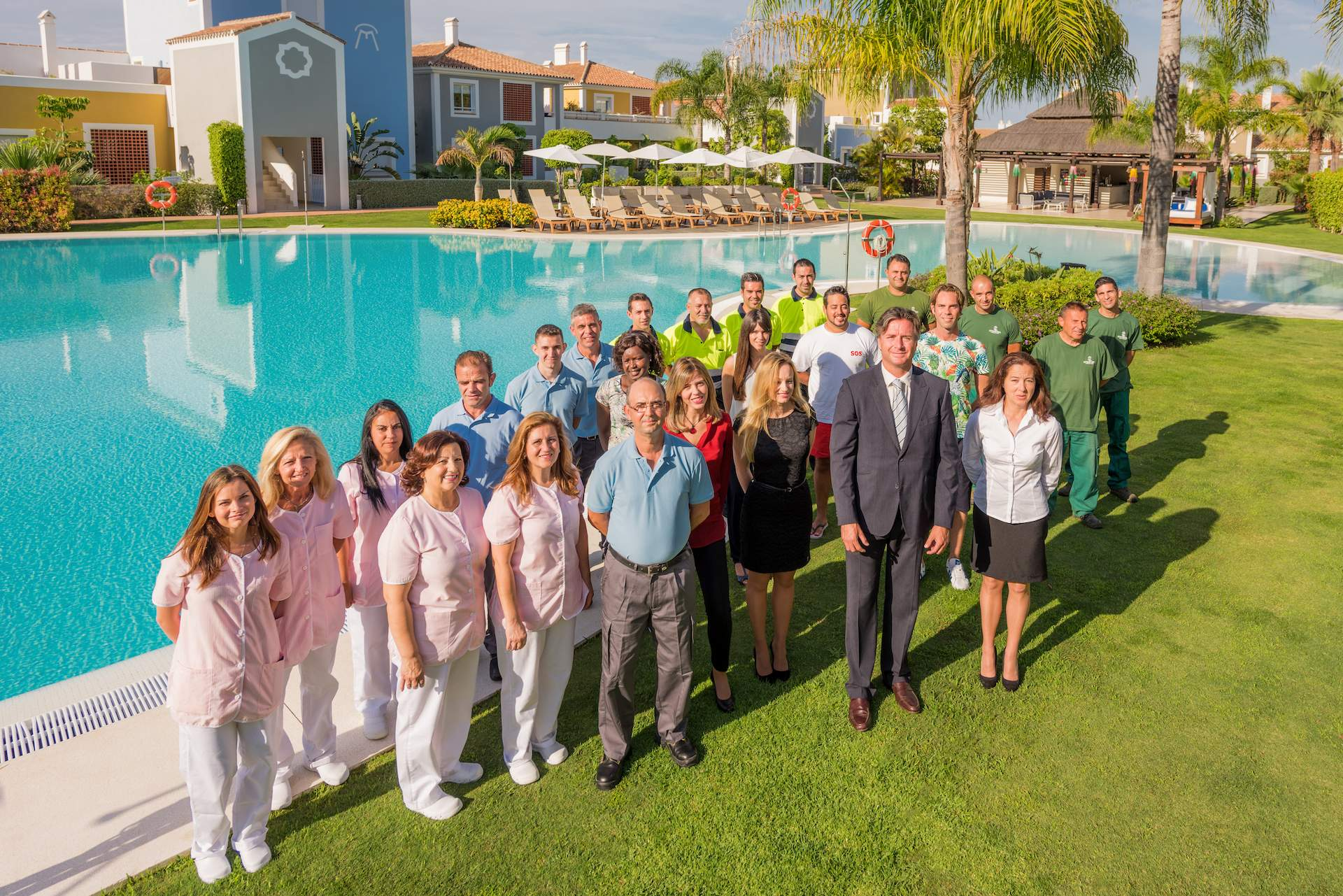 Cortijo del mar Resort Team